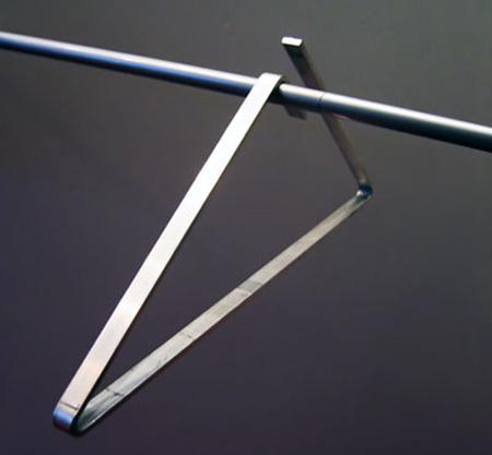 Modern Minimalist Hangers by Cecilia Lundgren