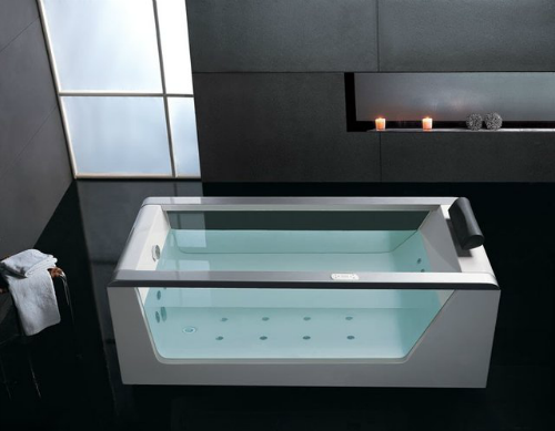EAGO Luxury Clear Whirlpool Hot Tub