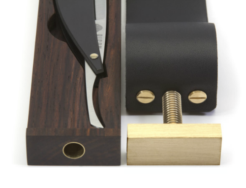 Bison Made Paddle Strop Razor Case (2)