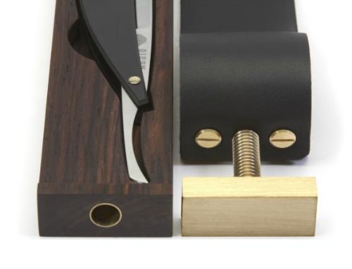 Bison Made Paddle Strop Razor Case (2)
